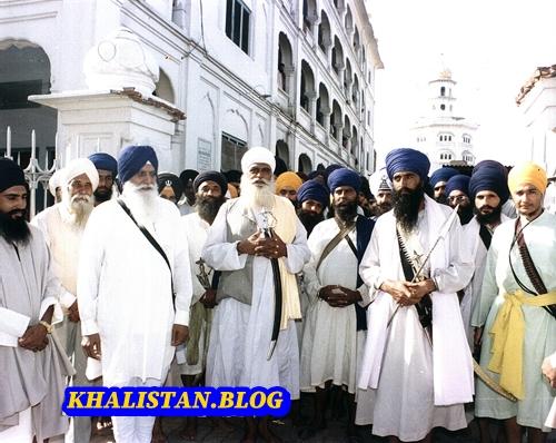 Baba Daya Singh withSant Jarnail Singh