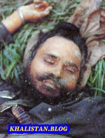 Baba Manochahal Shaheedi Saroop (no sign of blood anywhere)