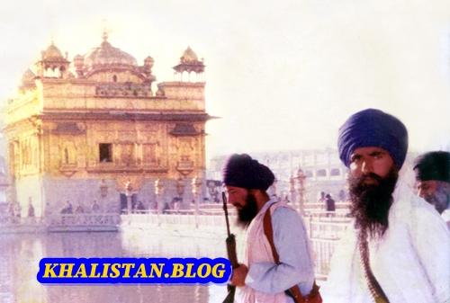 Shaheed Bhai Amarjeet Singh Khemkaran withSant Jarnail Singh
