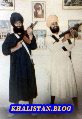 Shaheeds: Bhai Amarjeet Singh Shahzada Babbar & Bhai Iqbal Singh Papa Babbar