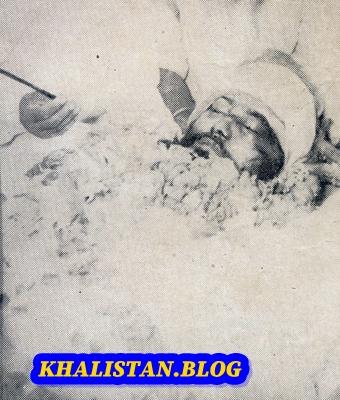 Bhai Jagjeet Singh Shaheedi Saroop