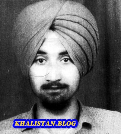 Shaheed Bhai Kuldeep Singh Sheikupura - General of Khalistan Liberation Force