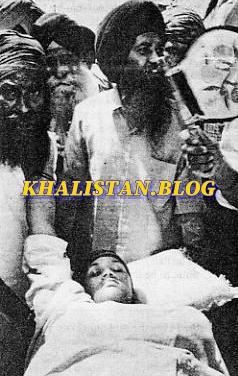 Bibi Gurdev Kaur - wife of Bhai Kulwant Singh Babbar