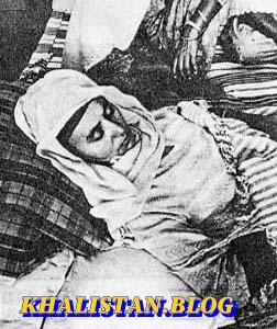 Bibi Gurmeet Kaur - wife of Bhai Mehal Singh Babbar
