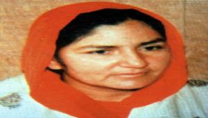 Bibi Surinder Kaur - wife of Shaheed Bhai Satwant Singh