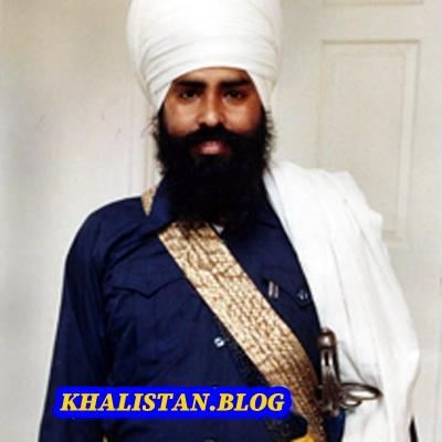 Jathedar Talwinder Singh Babbar