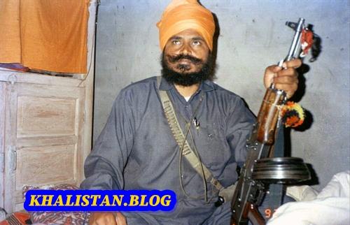 Shaheed Baba Gurbachan Singh Manochahal during the armed movement