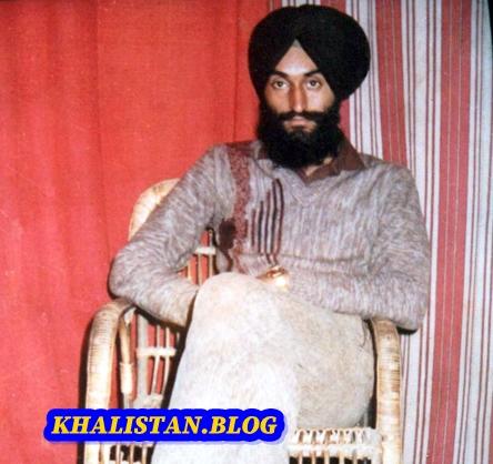 Shaheed Bhai Kanwarjeet Singh Sultanwind - Khalistan Commando Force