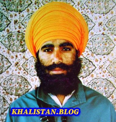 Shaheed Bhai Manbeer Singh Chaheru - 1st General of Khalistan Commando Force
