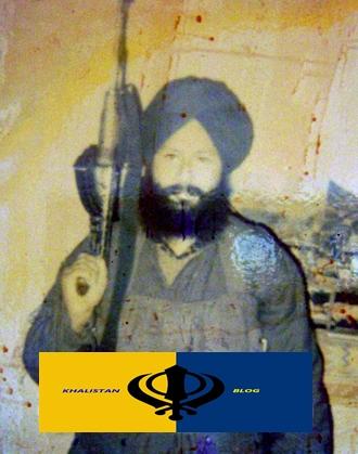 Shaheed Bhai Manjit Singh 'Billa': Lt. General – Khalsitan Commando Force