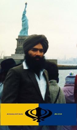 Shaheed Bhai Surinder Singh Shinder in New York