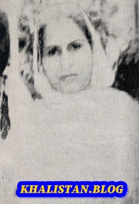 Shaheed Bibi Darshan Kaur