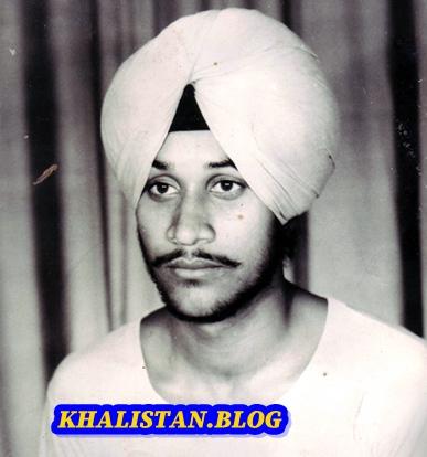 Shaheed Dr Gurnam Singh Buttar in his student days