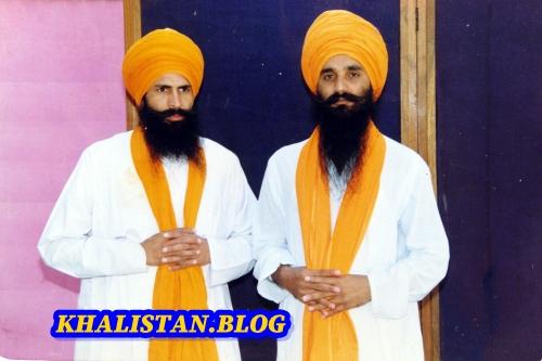Shaheeds Bhai Sukhdev Singh Sukha and Bhai Harjinder Singh Jinda
