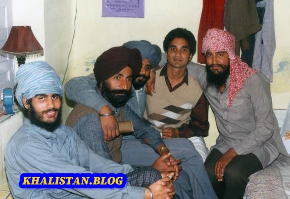 Shaheeds General Labh Singh, Bhai Charanjit Singh Channi, Bhai Harjinder Singh Jinda and Bhai Gurjeet Singh